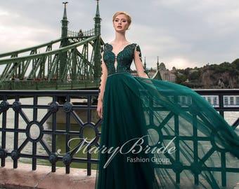 Budapest- Evening Dress V-055