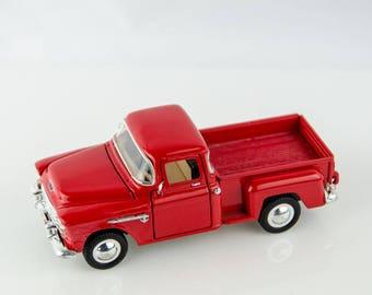 Sunnyside 1955 Chevy Stepside Pickup Truck 1/36 Diecast