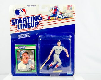 Starting Lineup 1989 Wade Boggs Action Figure Boston Red Sox