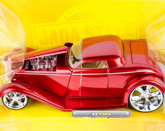 Rare Jada D-Rods 1932 '32 Ford 1/24 Scale Diecast Model Car