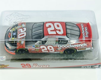 Super Rare 20 Yr Winners Circle Kevin Harvick #29 Goodwrench 1/24 Diecast Nascar