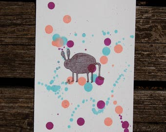 Monsters Love Bubbles Illustration