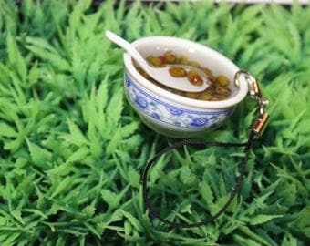 Ramen bowl Keyring/Phone charm