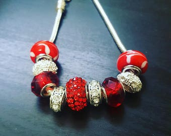 Valentine's Day Charm Bracelet