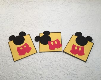 Set of 3 Mousekeeping Thank You Notes