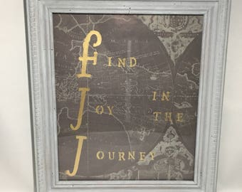 Find Joy in the Journey Wall Art