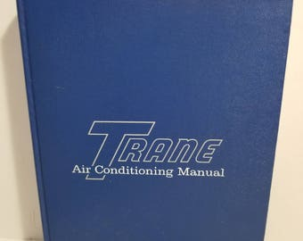 Vintage Trane Air Conditioning Manual 1965 The Trane Company