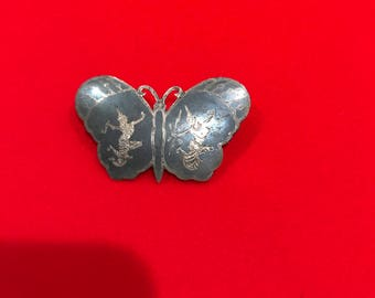 Vintage  Siam butterfly