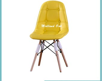 Eames Eiffel DSR DSW Plastic Dining Chair retro style Chairs modern designer button  new