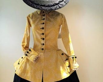 Travelling dress reproduction 1760
