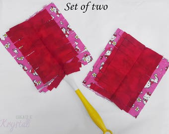 Pink Swiffer Duster 360 ~ Pink Reusable Swiffer Duster ~ Pink Washable Swiffer Duster ~ Pink Swiffer Duster Refill ~ Red Swiffer Cover