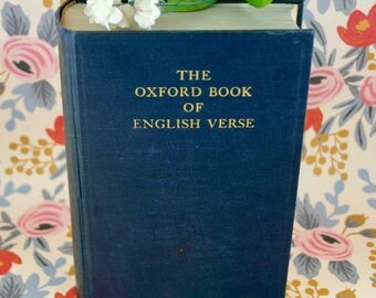 The Oxford Book of English Verse (1940)