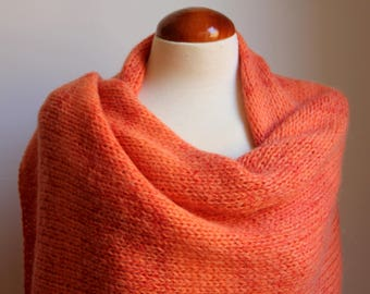Wool Cape and  mohair Shawl