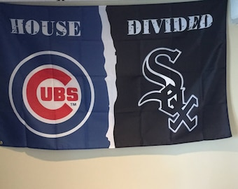 Cubs/White Sox House Divided Flag