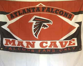 Atlanta Falcons Man Cave Wall Flag