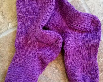 Child's Purple Socks