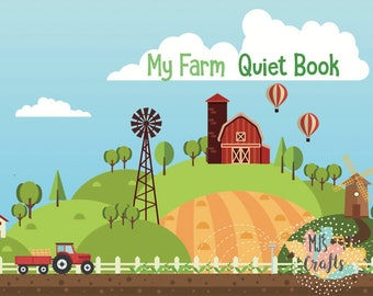 Farm Quiet Book - 2 Years old
