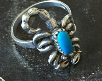 Vintage Native American Scorpion Ring