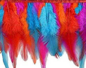 """Expo 5 yards of 5"""" Feather Fringe Trim"""