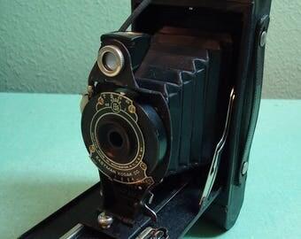 Eastman Kodak 2A Folding Hawkeye 116 Roll Film Camera Vintage Collectible Camera