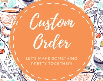 Custom Order | Personalized | Handlettering | Home Decor | Handmade | Custom Prints | Custom Shirt | Custom Children's Shirt