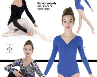 Jalie 3349 - Ballet Leotards / 22 Sizes / Child & Adult