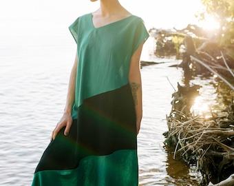 Linen dress Aparigraha, maxi dress, dress-meditation, long dress, yoga dress, boho dress