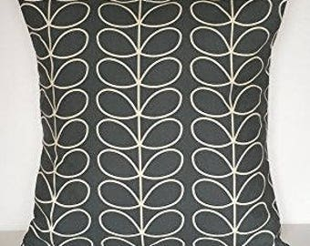 Orla Kiely Linear stem Cushion covers (Grey)