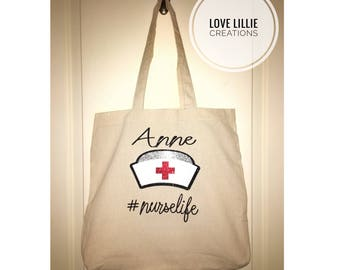 Nurse Life Tote Bag
