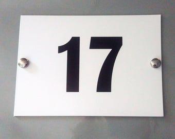 House Plaque / Door Number Plaque / Personalised Sign Street Plaque