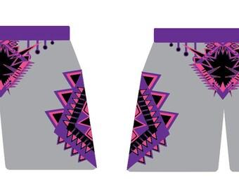 African dashiki  Print Shorts