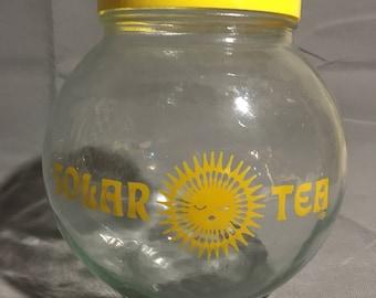 Vintage Glass Solar Tea Maker Domed Jar Holds 120 oz