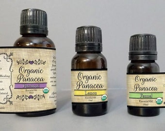 Rosemary Essential Oil | certified organic, steam distilled |