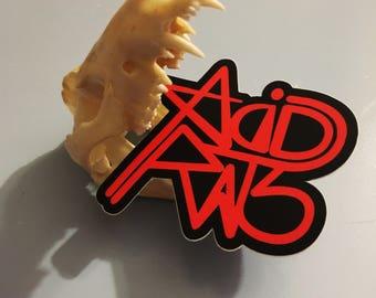 AcidRats Logo Vinyl Sticker
