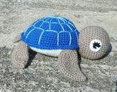 Amigurumi Turtle Stuffed Animal Soft Toy Sea Turtle Handmade Crotchet Toy