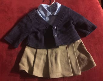 Doll 2 piece outfit