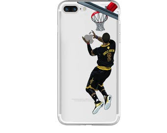 """The """"Uncle Drew"""" Basketball Phone Case, Hand-drawn Basketball iPhone Case / Fits iPhone 5, iPhone 6, iPhone 7"""