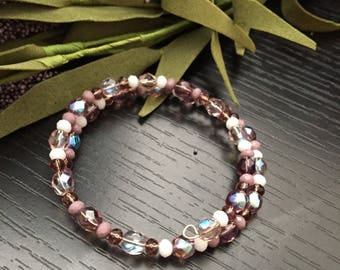 Purple Wire Bracelet