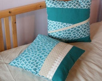 Fabric pillow cover