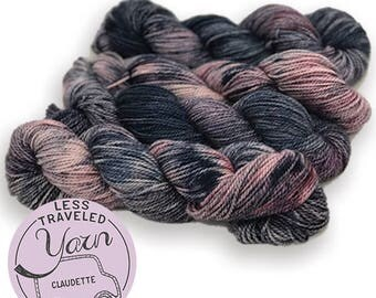 Less Traveled Yarn - Hand Dyed - Claudette