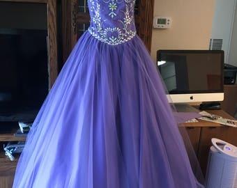 Custom Made Quinceanera Dress
