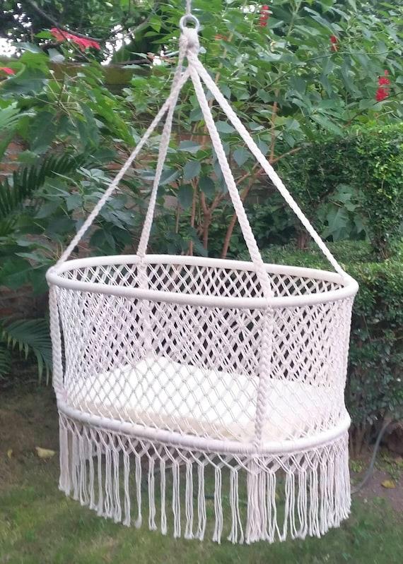 like this item  natural baby crib   hanging bassi    baby hammock   hanging  rh   etsy