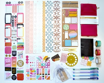 Live A Colorful Life Planner Accessories Kit