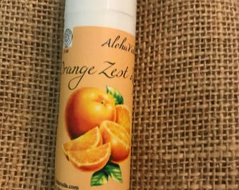 Orange Lip Balm - 1oz