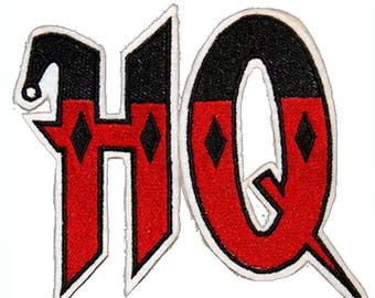 Batman Harley Quinn HQ 2 Inch Sew On or Iron On Application Applique Patches