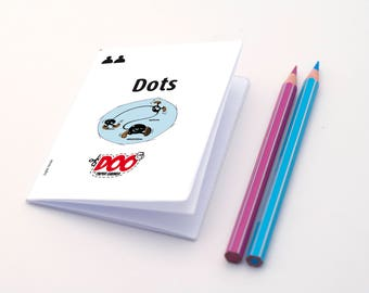 DOTS Paper Game - English Version - INSTANT DOWNLOAD