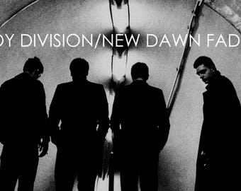 Joy Division New Dawn Fades poster