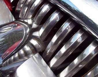 Buick Grill, vintage cars, buick, photography, photo, auto photography, instant download photography, classic cars, wall art, auto print