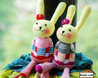 Free Shipping! Socks Bunny making kit