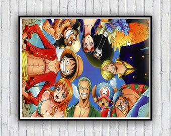 One piece Poster, One piece Poster Print, Available in 4 sizes